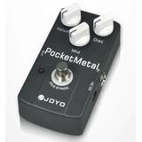 Pedal Joyo Jf35 Pocket Metal Distorsion Guitarra Eléctrica /