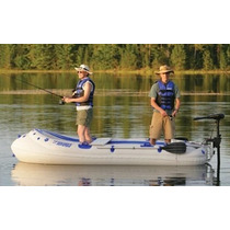 Bote Inflable Sea Eagle Se-9 Con Montaje Para Motor - 4 Pers