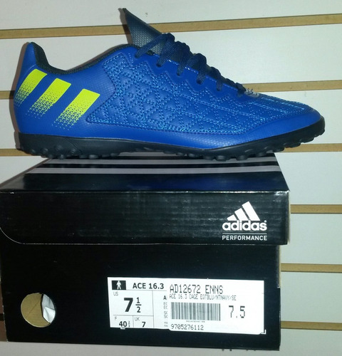 adidas Ace 16.3 Court Futsal Para Niño En Cuero 100%original bc96851bfe360