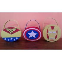 Recuerdo Fiesta Infantil Los Vengadores, Capitan America,