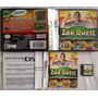 Zoo Quest - Puzzle Fun! - Nintendo Ds Lite Dsi & 3ds