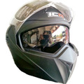 Casco Integral Abatible Doble Visor Certificado 3110