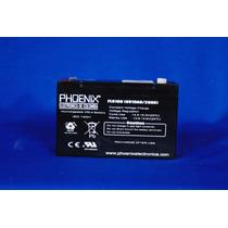 Batería 6 Voltios 10 Ah Alarmas Ups Motos Eléctricas Niños