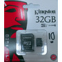 Memoria Micro Sd Kingston 32 Gb Clase 10 Uhs-1