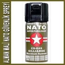 2x1 Gas Pimienta Nato Alemán Defensa Personal Aerosol Peper