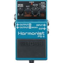 Pedal Boss Ps6 Harmonist