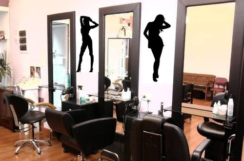 Vinilos adhesivos decorativos para salones de belleza y for Decoraciones para centro de estetica
