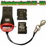 Lector Usb Grabador Memoria Micro Sd M2 A Usb N95 Juank
