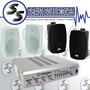 Bafles Sonido Distribuido, Ambientales Venta E Instalación.