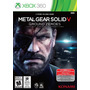 Metal Gear Solid V Ground Zeroes Tactical Espionage Xbox 360