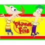 Kit Imprimible Phineas Y Ferb Diseñá Tarjetas, Cumples Y Mas