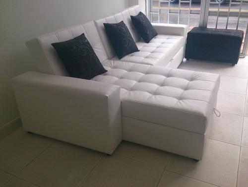 Sala moderna sofa cama con baul puff baul mesa envio gratis 1599900 s7eii precio d colombia for Salas modernas precios