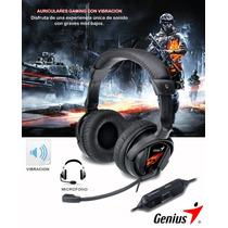 Audífonos Diadema Genius Chat Gamers Hs-g500v Vibra Pereira