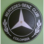 Reloj Pared Mercedes Benz Logo En Madera