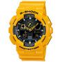 Reloj Cassio G Shock Ga100 Selector Analogo-digital Luz Led