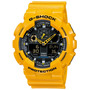 Reloj Cassio G Shock Ga100 Selector Analogo-digital Luz Led