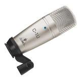 Microfono De Condensador Usb Behringer C1u Profesional