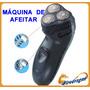 Oferta Maquina De Afeitar Recargable 3 Cabezas + Patillera