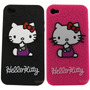 Forro Carcasa Para Iphone 4/4s/4g/5 Hello Kitty En Silicona