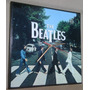 Reloj Pared Beatles Abbey Road En Madera