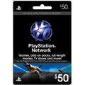 Playstation Network $50 Card Tarjeta De Recarga Psn Vita Ps3