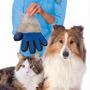 Guante Masajeador De Silcona Para Mascotas Perros Gatos