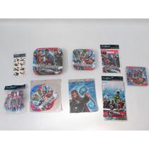 Set Piñata Avengers Los Vengadores
