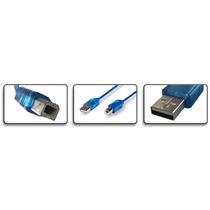 Cable Blindado Usb De 5 Metros De Largo Para Impresoras