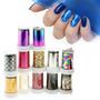 ¡ Cinta Transfer Nail Foil Papel Espejo Decoración D Uñas !!
