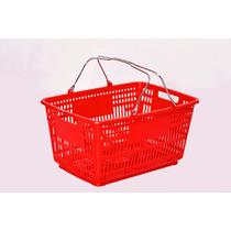 Canasta Plastica Para Supermercado.