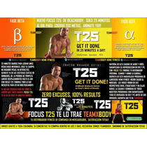 Focus T25 Workout De Insanity