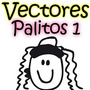 Super Pack Vectores Familia Palitos Para Carro