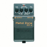 Pedal Guitarra Electrica Boss Metal Zone Mt2