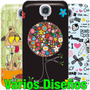 Estuche Samsung Galaxy S4 Hello Kitty Forro Fashion I9500 X