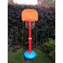 Cancha Baloncesto Ultra Resistente 170cm Jardin Infantil