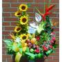 Diselo Con Flores Hermosos Arreglos Con Frutas Rosas
