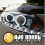 2 Ojos De Angel Aros Universal Led Fluorescente 7 Cm Diametr