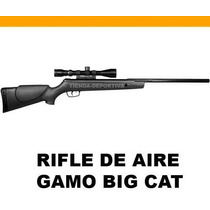 Rifle De Aire Gamo Big Cat 1200 Fps + Mira Gamo 4x32mm