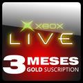 Xbox Live 3 Meses Membrecia Gold Xbox360 Xboxone