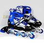 Patines Kit Proteccion Aluminio Silicona Talla S 31-34 Ajust