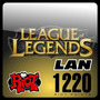 League Of Legends 1220 Rp Lan Game Card