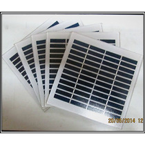 Panel Solar En Vidrio 12v. - 1w.