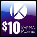 Tarjeta Karma Koin $10 Dolares