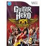 Guitar Hero Aerosmith Wii, Usado!!