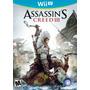 Assassins Creed 3  Wii U  Nuevo Y Original