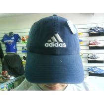 Gorra Adidas Azul Blanco 100% Original Y Mucho Mas