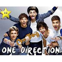 Invitaciones One Direction Diseñá Tarjetas, Cumples Y Mas #2