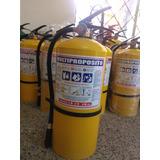 Extintor Multiproposito 20  Lbs Con Polvo Químico Certificad