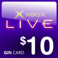 Xbox Live $10 Usd Gift Card Para Cuenta Americana