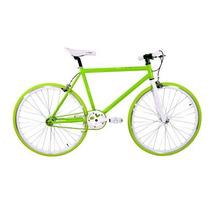 Bicicleta Fixed Doble Piñon Frenos Importada Manzana Dorada
